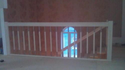 Современное ограждение лестницы